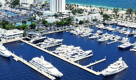 Bahia Mar location