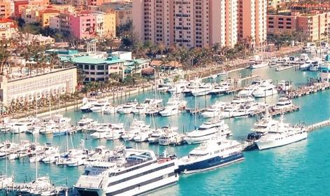Miami Beach Marina location