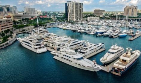 Palm Beach Harbor location