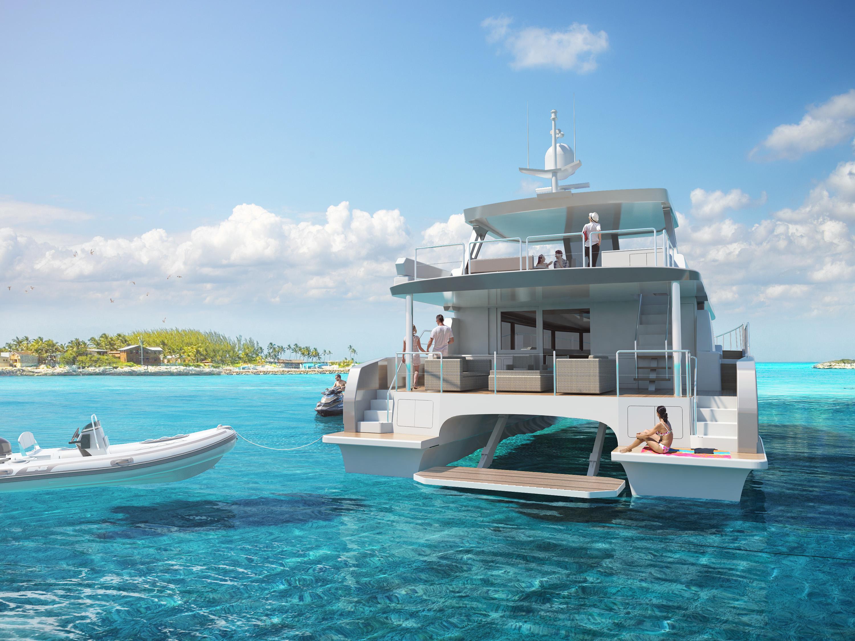 Image of Two Oceans 555 Power Catamaran