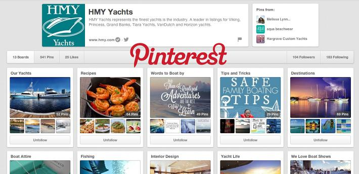How HMY Yachts and Pinterest help you this Holiday Season!