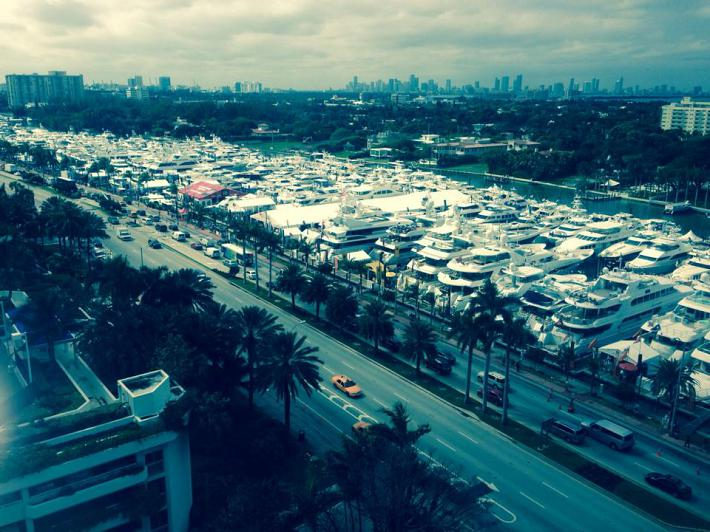 Yacht and Brokerage Show in Miami Beach 2014