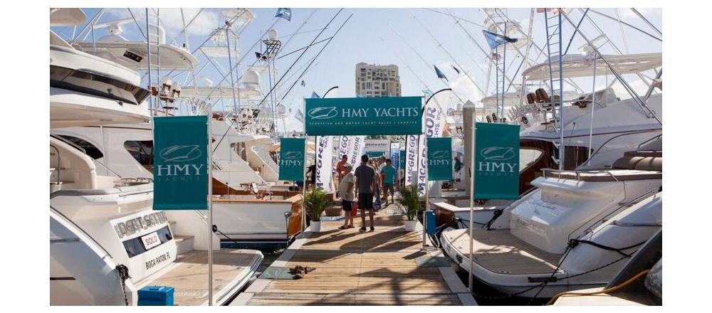 How HMY Yachts Does the Ft. Lauderdale Boat Show