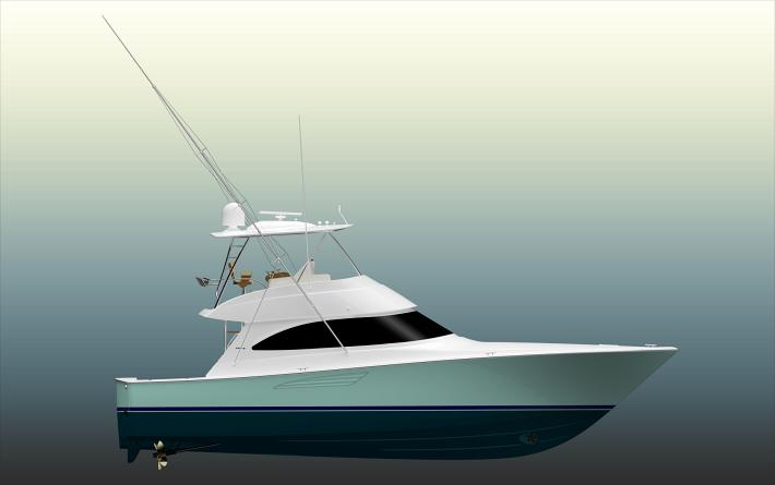New Viking Yachts 48 Convertible To Debut at Miami Boat Show