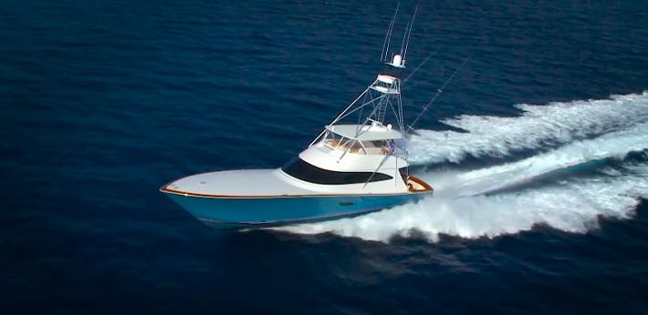 Video Review of the New 2016 Viking Yachts 80 Convertible