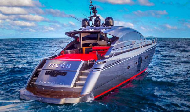 Experience Ticun, A Fully Loaded Pershing 64