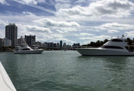 Viking Yachts Line Up For Yachts Miami Beach