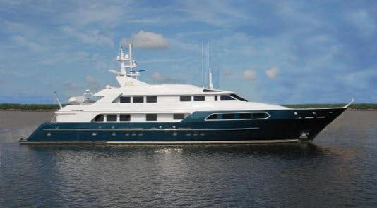 Watch Stunning Video of Cherosa, a 1998 153′ Swiftships Tri-Deck