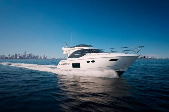A First Look Inside the New Princess Yachts 49