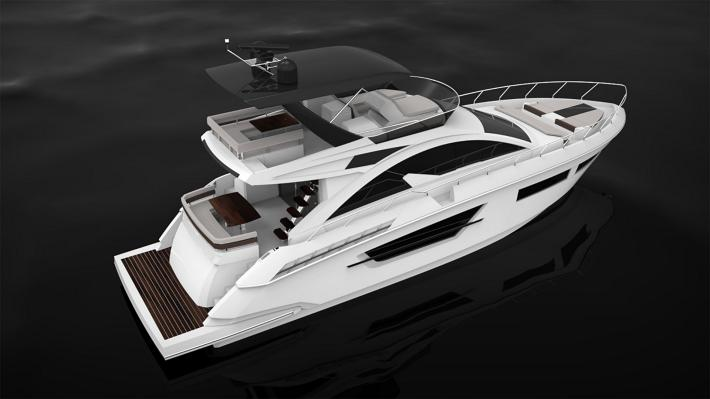 Cruisers Yachts Unveils The New 60 Flybridge