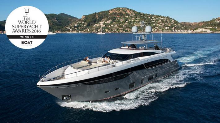 Princess Yachts 35M Wins Big at 2016 World Superyacht Awards