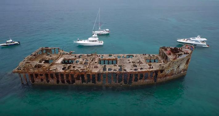 The Intriguing History of the SS Sapona Wreck