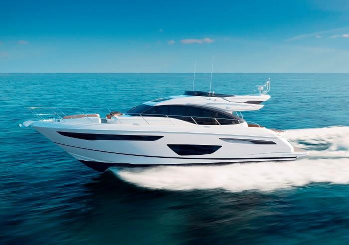 The S60 Joins the Princess Yachts Fleet