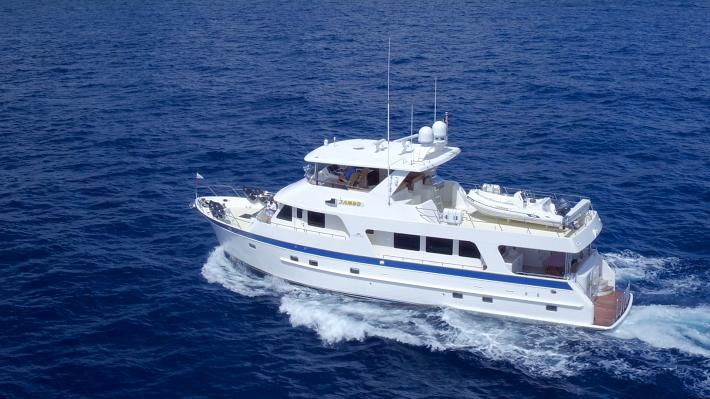 Yacht Video : 2012 Outer Reef 72 Raised Pilothouse