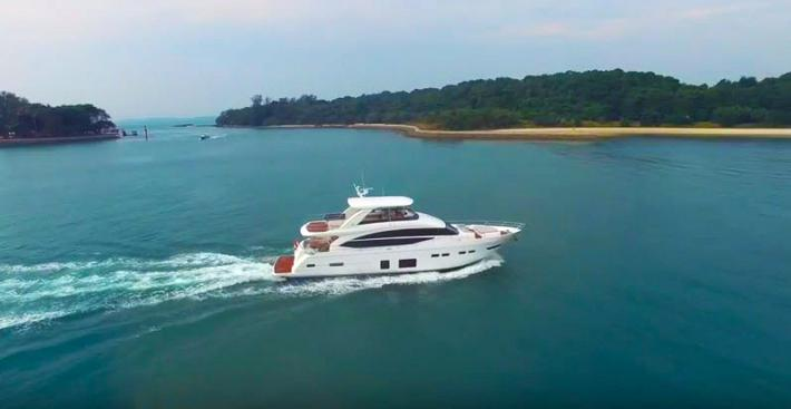 Just Released Video of the Princess Yachts 75 MY