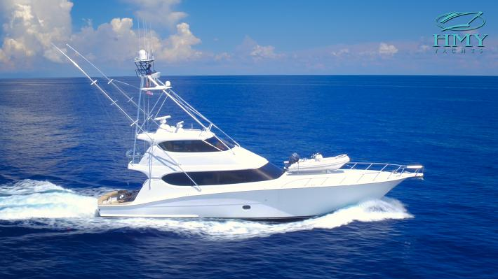 Yacht For Sale Video : 2008 77 Hatteras Yachts