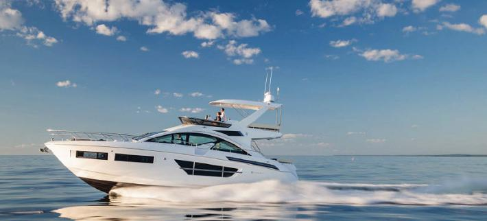 Exclusive Video of the New Cruisers Yachts 60 Fly