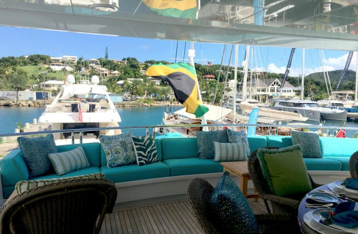 HMY Yachts At The Antigua Charter Yacht Show