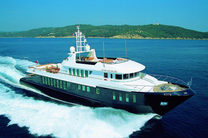 Ice 5 43M Explorer Yacht Available For Bahamas Charter
