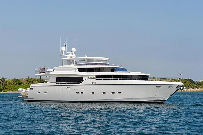 Featured Yacht For Sale Video : 87′ Johnson Motor Yacht