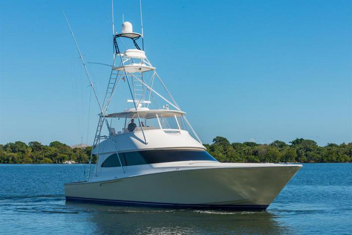 Over The Top : 2008 60′ Viking Yacht For Sale