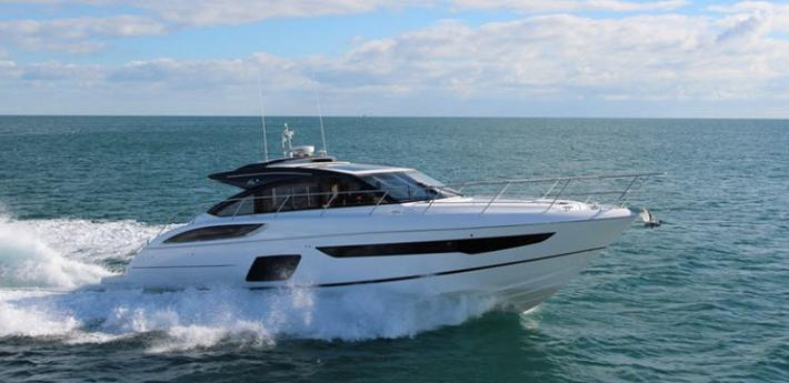 Updated : The Fast and Fun Princess Yachts V58