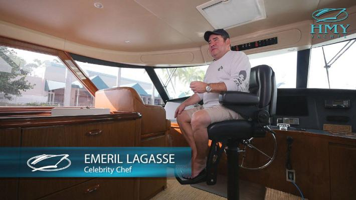 Exclusive Video: Emeril Lagasse's Line Vine And Dine Sailfish Tournament