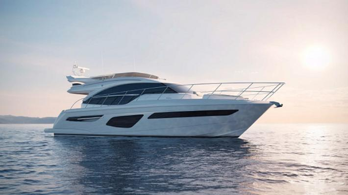 Princess Yachts Reveals Their New 55 Flybridge