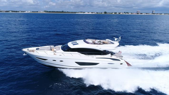 Climb Aboard Our 2017 Princess Yachts S72