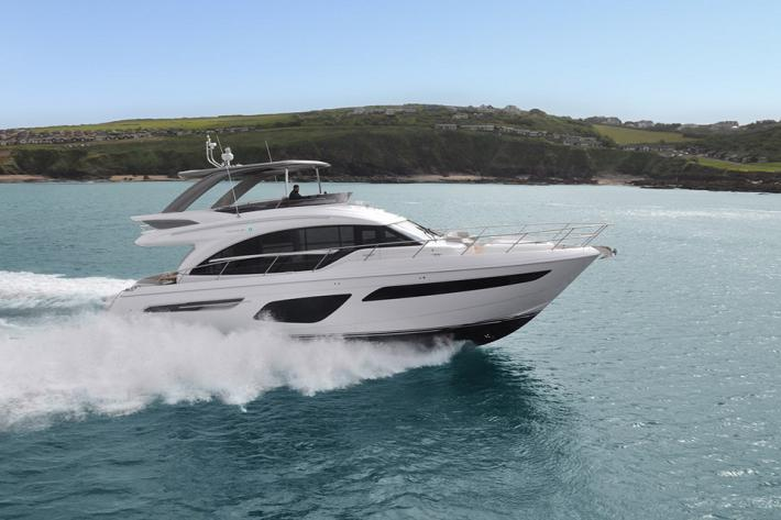 Meet The New Princess Yachts 62 Flybridge