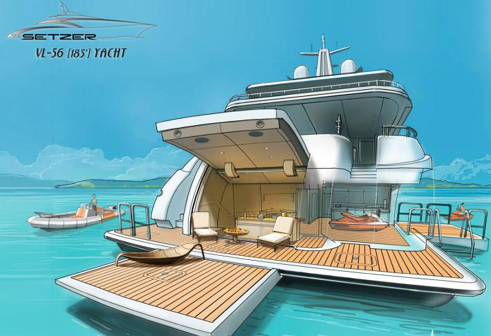 Superyacht Tender Garage Trends
