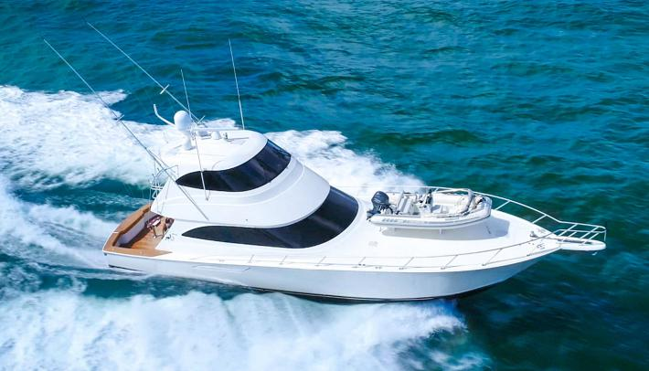 Prepare For Battle With Odin, Our Viking Yachts 62 Enclosed Bridge