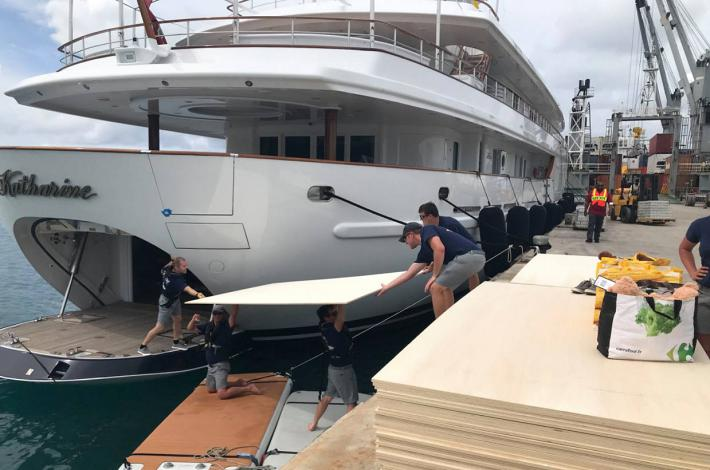 Yachting Industry Joins The Hurricane Relief Effort