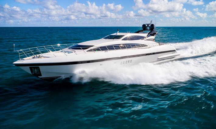 Explore Our New Listing, U Wish, A 2011 Mangusta 105′