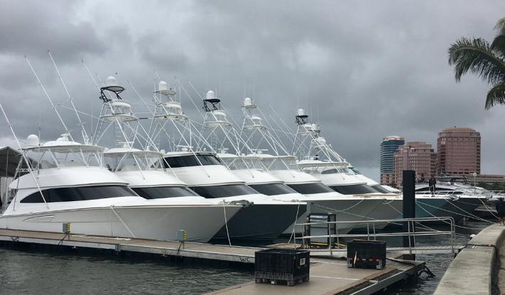 15 Brokerage Viking Yachts Sportfish at the Palm Beach Int'l Boat Show