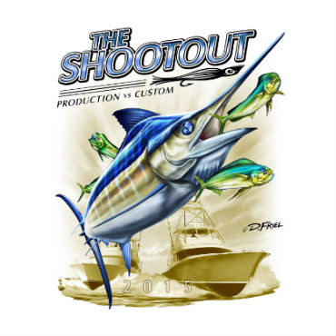 Custom Shootout Billfish Release