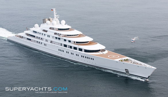 590 foot Luxury Yacht Azzam