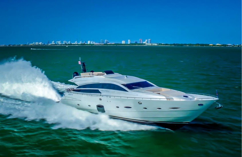 92 Pershing Express Yacht