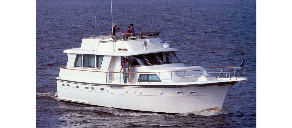 53 Extended Deckhouse Motor Yacht