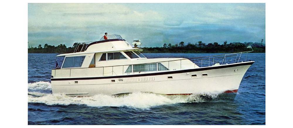 58 Tri Cabin Motor yacht