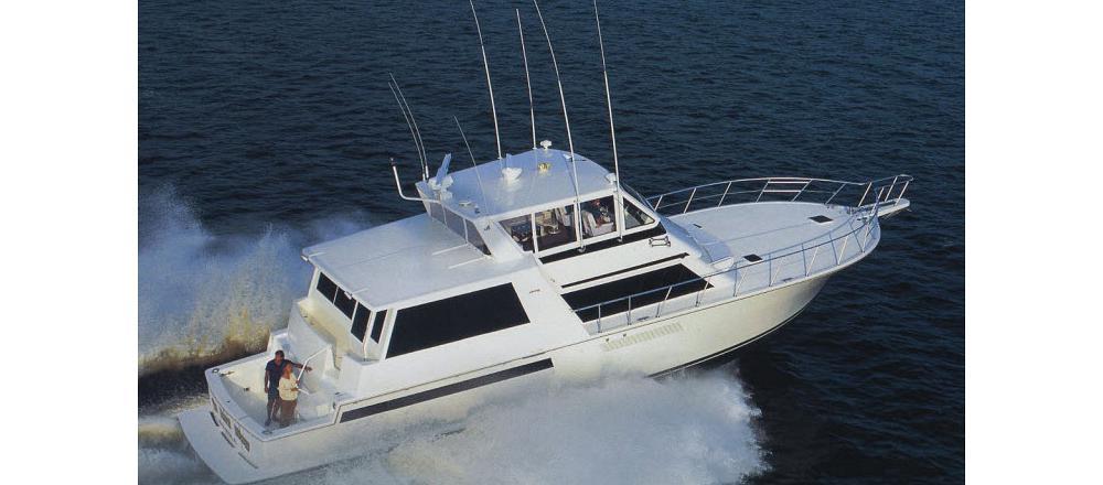 60 Cockpit Motor Yacht
