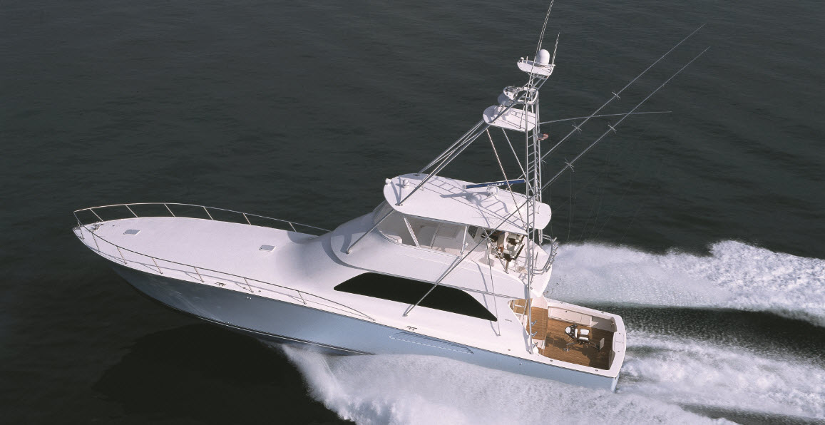 Viking Yachts 74 Convertible