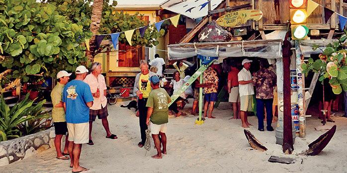 Pete's Pub Little Harbour Bahamas