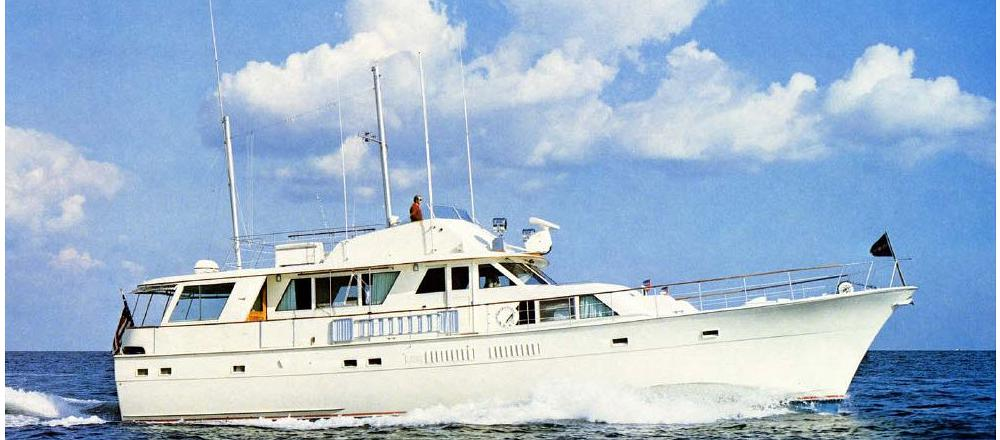 70 Extended Deck Motor Yacht