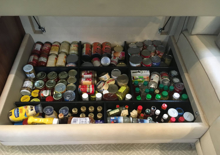 Provisioning On A Yacht