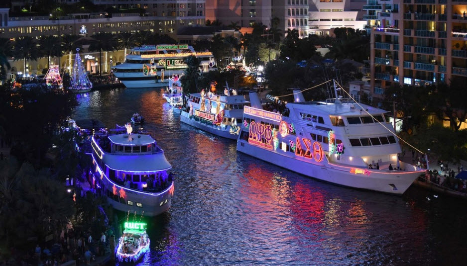 Ft. Lauderdale Boat Parade