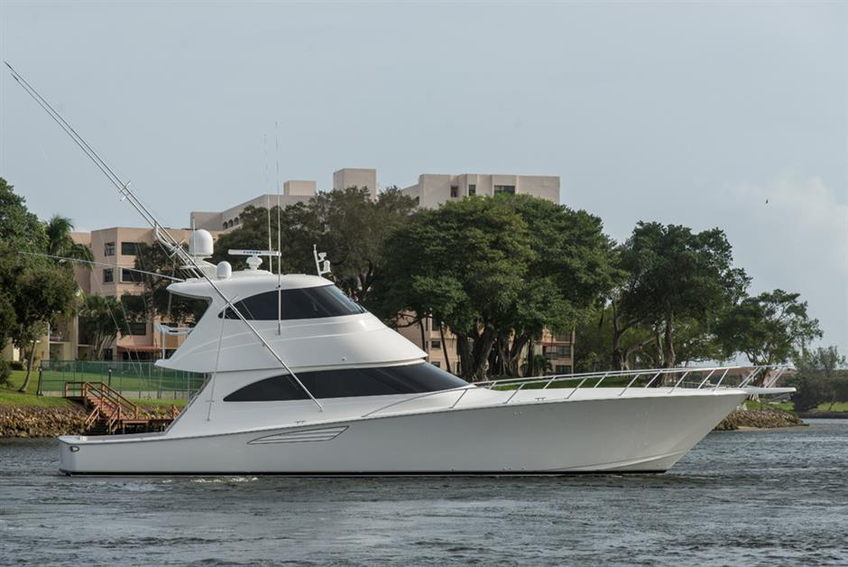 2015  Viking Yachts 62 Enclosed Bridge