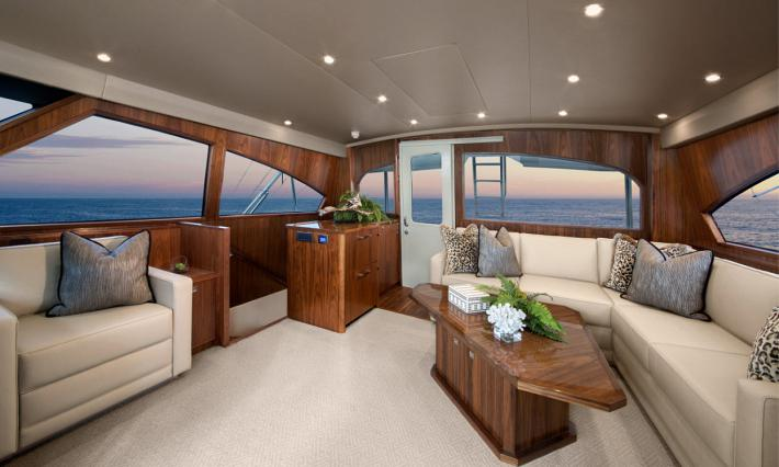 The Viking Yachts 92 – Interior Overview