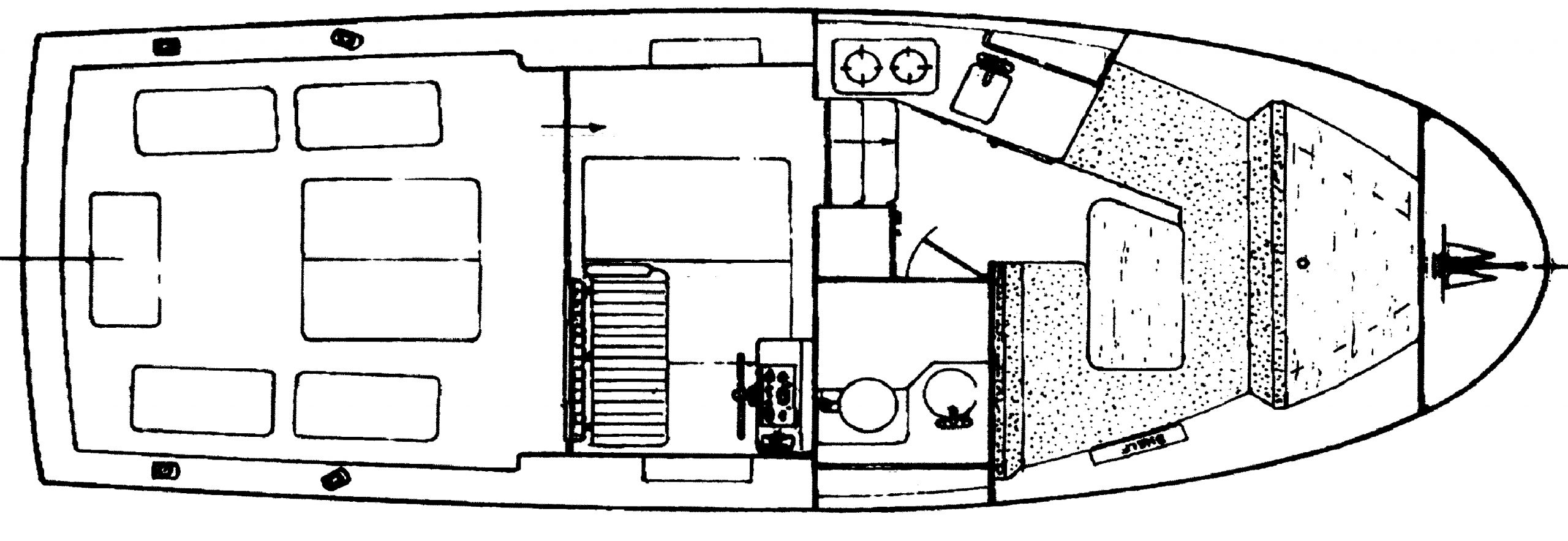 27 Sport Cruiser Floor Plan 1