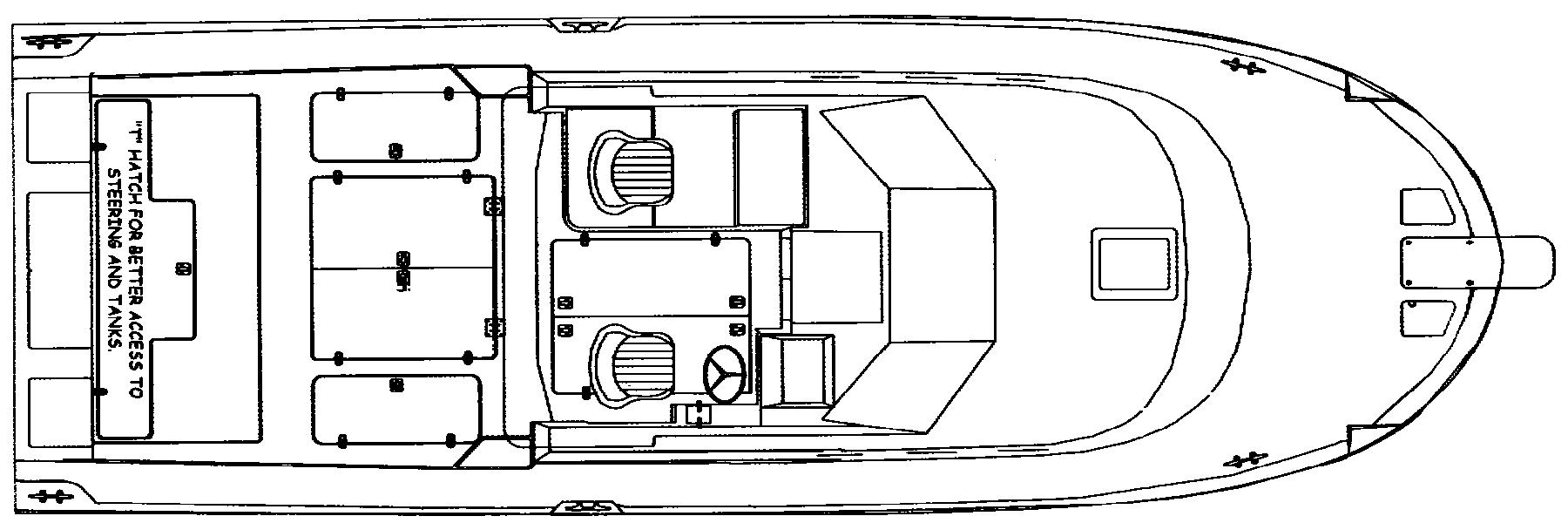 Albin 28 TE Floor Plan 2